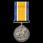 British War Medal 1914-1919, awarded to Private T.E. Sharley, 2nd/7th Battalion, Hampshire Regime...