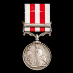 Indian Mutiny Medal 1857-1859, 1 Clasp: Lucknow, awarded to Able Seaman Charles Phillips, Royal N...