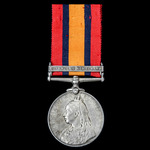Queen's South Africa Medal 1899-1902, 1 Clasp: Defence of Kimberley, awarded to Private J. Meder,...