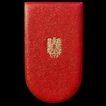Austria – Republic 1952 – Merit Order Knights Cross in gilt and enamels, and in fitted Anton Reit...