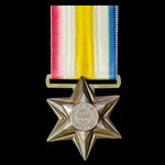 Punniar Star 1943, fitted with modified straight bar silver suspension, awarded to Private Willia...