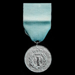 ​  Greece: Silver Service Medal 3rd Class of the EON (Ethnikí Orgánosis Neoléas) the Metaxist Nat...