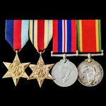 Second World War South African East African Campaign group awarded to Private G.F. Wilson, 3rd Ba...