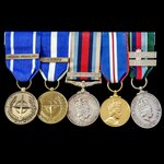 A fine and rare Special Forces group awarded to Lance Corporal D.M. Harrison, 21st Special Air Se...