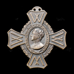 Netherlands: Commemorative War Cross 1940-1945, lacking ribbon mount.