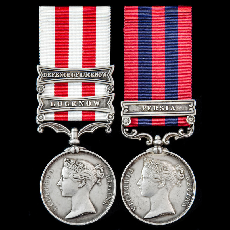 Persia 1857 and Indian Mutiny. | London Medal Company
