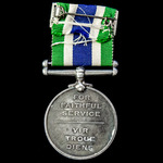 South African Police Good Service Medal, 3rd type (1951-1963), awarded to Native 2nd Class Sergea...