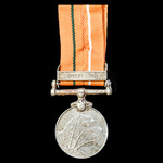 ​  India - Republic of: Sainya Seva Medal with Clasp: Bengal and Assam, awarded to Corporal M. Ku...