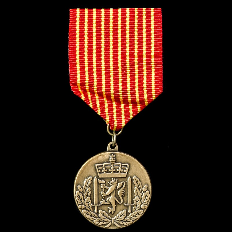 Norway: Army National Service.   London Medal Company