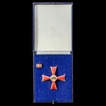 Germany - Federal Republic of: Order of Merit, Cross of Merit 1st Class, gilt and enamels. Housed...