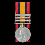   A Queen's South Africa Medal 1899-1902, 3 Clasps: Cape Colony, South Africa 1901, South Africa...