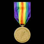 Victory Medal, awarded to 2nd Corporal S.J. Gregory, Royal Engineers.