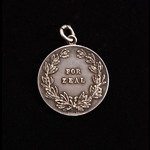 Tribute Medal - A Great War Granton Naval Base Medal for Zeal awarded to Telegrapher F.A. Smith, ...