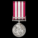 Naval General Service Medal 1909-1962, GVI 1st type bust, 1 Clasp: Palestine 1945-48, awarded to ...