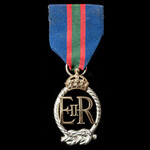 Royal Navy Volunteer Reserve Decoration, E.II.R., officially dated 1965.