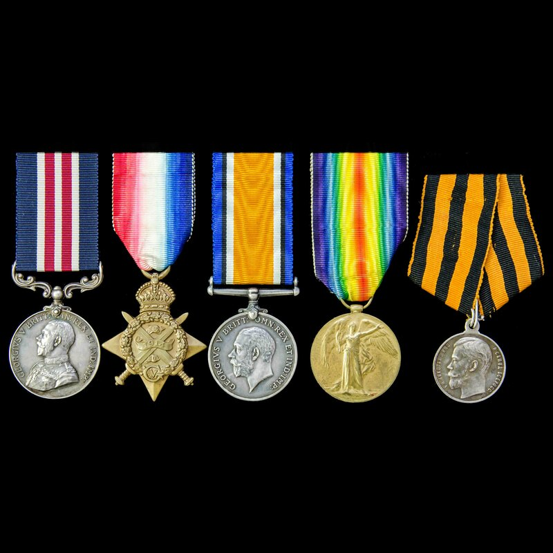 A rare Great War Battle of th. | London Medal Company