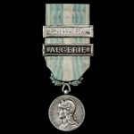 France - Colonial Medal, 1914-62, 30mm, two clasps 'Algerie' and 'Sahara'