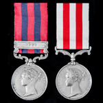 ​  A fine Second Burma War Pegu Campaign Mention in Despatches and Indian Mutiny pair awarded to ...