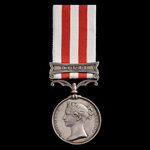 Indian Mutiny Medal 1857-1859, 1 Clasp: Delhi, awarded to Ensign later Major W.G. Turle, 1st Batt...