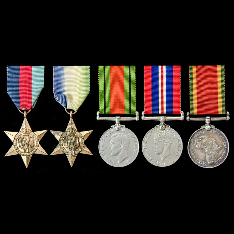 Second World War South Africa.   London Medal Company