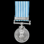​  India - Republic of: Videsh Seva Overseas Service Medal with Bhutan Clasp, awarded to Havildar...
