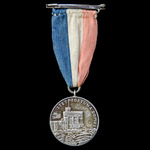 Jubilee Medal 1935, an unofficial version in silver, the obverse with the busts of King George V ...