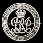 Silver War Badge, reverse numbered '178617' awarded to Private F.L. Bless, Royal Army Medical Cor...