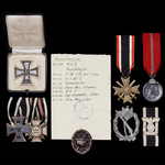 Germany – Third Reich: A Fascinating Anti-Partisan Operations 1939 Bar to the 1914 Iron Cross 2nd...