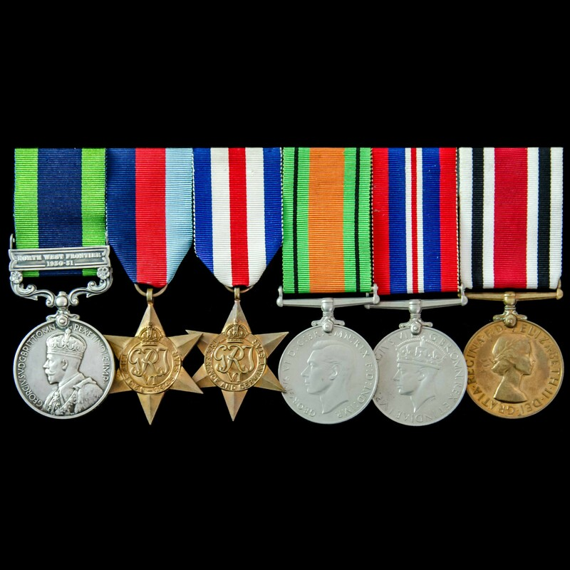 India North West Frontier Red. | London Medal Company