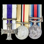 The exceptional Operation Herrick 10 Afghanistan May 2009 Military Cross group awarded to Lance S...