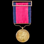 The highly important Field Officer's Small Gold Medal, with reverse for Roleia & Vimieira, awarde...