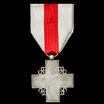 France - Medal of the Recompense of the French Red Cross, 1st type in silver 1940-1950