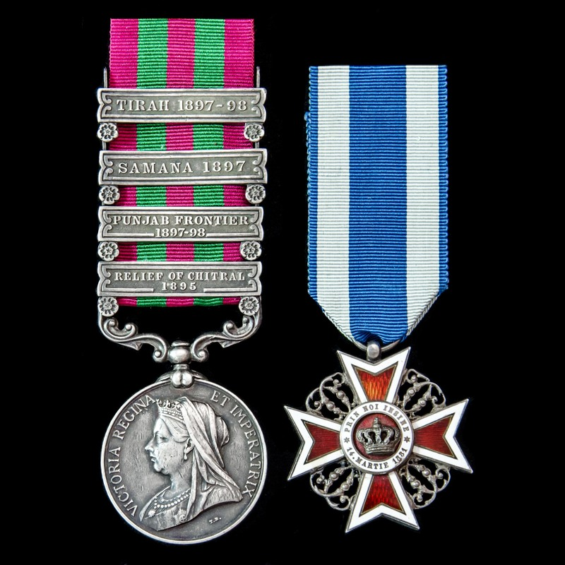 India General Service Medal 1.   London Medal Company