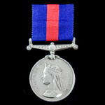 New Zealand Medal 1845-1866, reverse dated 1861 to 1866, officially impressed naming, awarded to ...