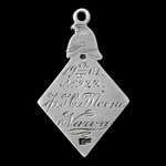 Russia - Imperial Russia: Membership Jetton for the Society of the Azure Cross for Assistance to ...