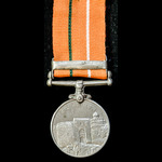 ​  India - Republic of: Sainya Seva Medal with Clasp: Jammu and Kashmir, awarded to Driver Devram...