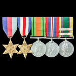 ​  The fine Second World War North West Europe and Cadet Forces Medal with both the Second and th...
