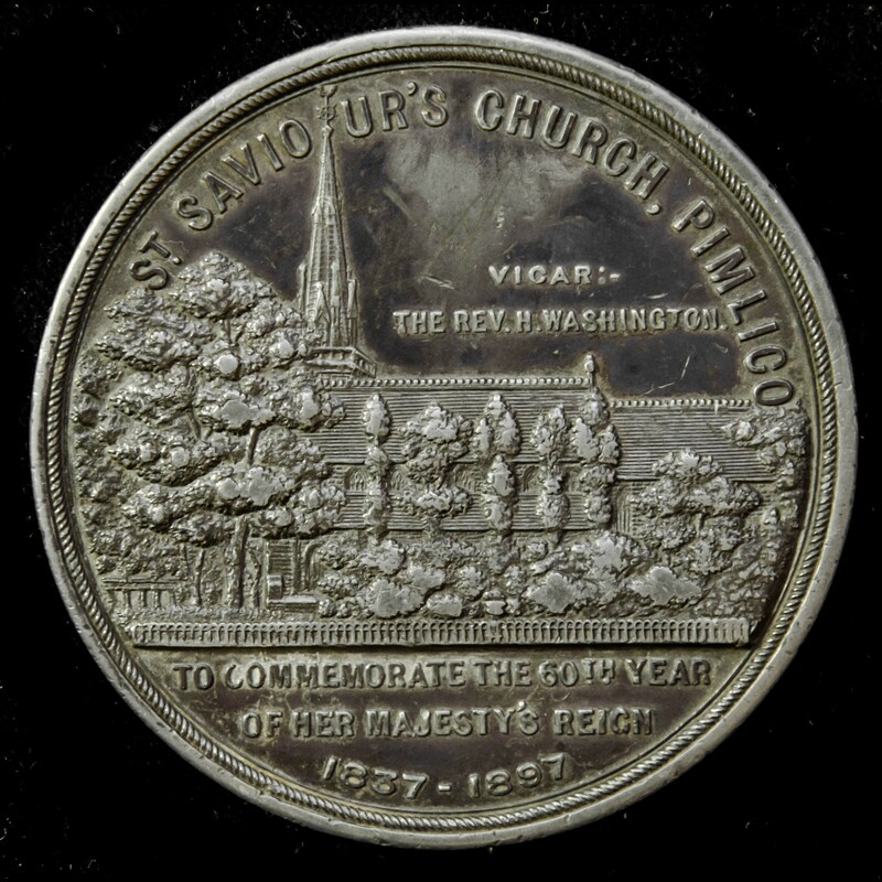   Great Britain: Pewter Quee. | London Medal Company