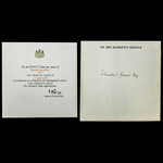   Original Second World War Mention in Despatches Certificate, issued to an Egyptian, Iskandar G...