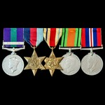 Palestine Arab Rebellion and Second World War North Africa casualty group awarded to Private J.V....