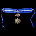 Romania – Order of the Crown of Romania, Grand Officer's 2nd Class set of insignia, 2nd type 1932...