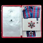 Oman – Sultanate of: The Stunning Order of Oman, Military Division, Grand Cross Set in 18ct white...