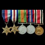 Second World War North West Europe and Special Constabulary long service group awarded to Special...