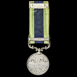 India General Service Medal 1908-1935, 1 Clasp: North West Frontier 1930-31, awarded to a Cook Sa...
