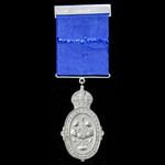 Kaisar-I-Hind Medal, 2nd Class in Silver, GVR 2nd type GRI cypher, fitted with a replacement top ...