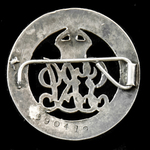 Silver War Badge, reverse numbered '290419' awarded to Sergeant N.B. Taylor, 3rd Battalion, Durha...