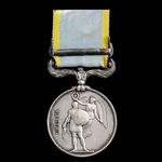 Crimea Medal 1854-1856, 1 Clasp: Sebastopol, officially impressed naming, awarded to Yeoman of Si...