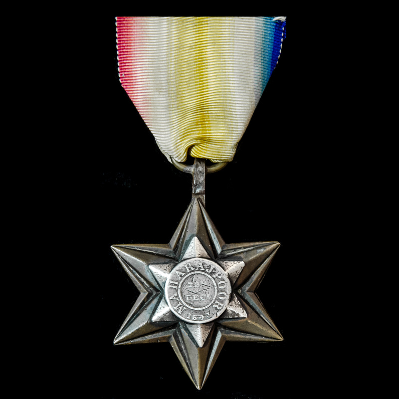 Maharajpoor Star 1843, fitted.   London Medal Company