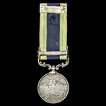 India General Service Medal 1908-1935, 1 Clasp: North West Frontier 1930-31, awarded to Sepoy Rah...