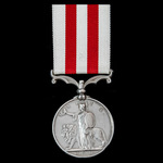 Indian Mutiny Medal 1857-1859, no clasp, awarded to Private George Probert, 3rd Madras European R...